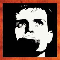 Ian curtis Painting - 49.00 by Hodgy-Uk
