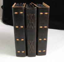 Black journals by gildbookbinders