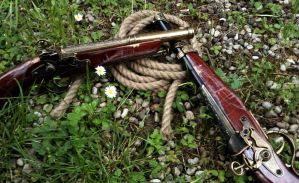 Connor Gun's and Rope by eyes1138