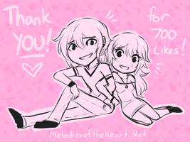 Thank you for 700 likes!! by Little-Miss-Boxie
