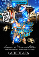 Latin Mardi Gras flyer Party by DeityDesignz