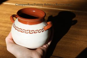 Earthenware Amphorae by CompassRosePottery