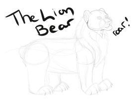 The Lion Bear by SapphireSquire