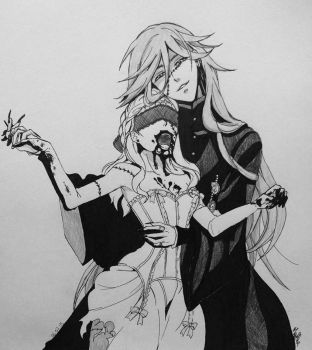 Undertaker and miss Margaret Connor by martha1101