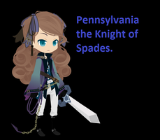 Pennsylvania, The Knight of Spades ((oc )) by girlnephilim90