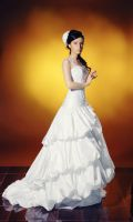 bride wedding dress stock 6 by Luria-XXII