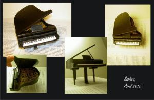 Piano model by SingingNight