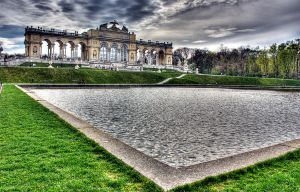 Gloriette in Vienna -  HDR by Onatcer