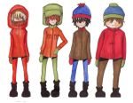 South Park Boys by LauraTheMudblood