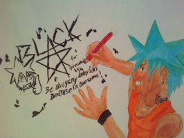 Black Star autograph for apinerukerri123 by arschra
