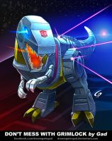 Don't mess with Grimlock by Gad by Dreamgate-Gad