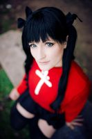 Fate Stay Night - Rin by aco-rea