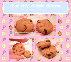 choc-chip cookies by MiniatureTemptations