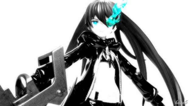 Black Rock Shooter - Activate by hana5