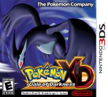 Pokemon XD Gale of Darkness 3DS cover art by TrEEck0ia