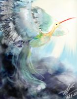 Bird of the inspiration by ANeDe