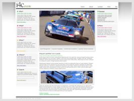 i4c Events website design by br3n
