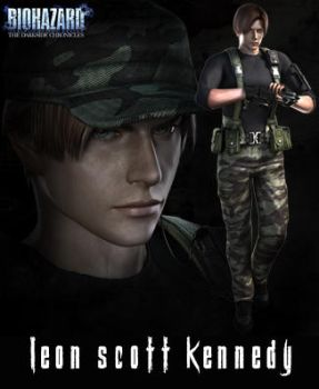 Leon S. Kennedy RE OJ by Claire-Wesker1