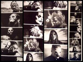 my Slipknot Collage by FarewellQuutamo
