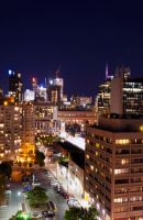 Downtown Toronto at night #2 by Afftomat