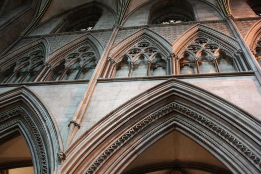 The Hereford Cathedral piece by TatjanStudio