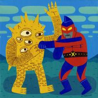 Eyezon Versus Captain Maxx by Teagle