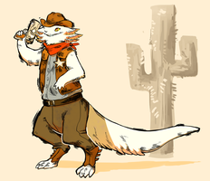 WT: Wild West Attire by solitairre