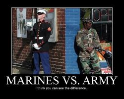 Marines and Army by Tehmaster31