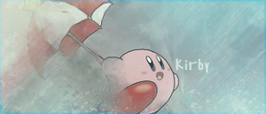 Kirby Umbrella Tag by iSoulTouch