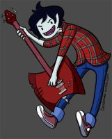 Marshal Lee Rocks by gwingangel