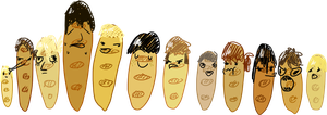 cool bread squad by Lunchwere