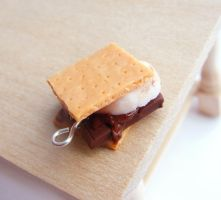 Smores Pendant by fairchildart