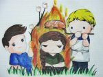 What can we do with the Girl on Fire by angelelogs