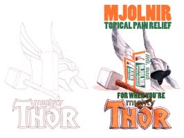 Mighty Thor by sequentialartist