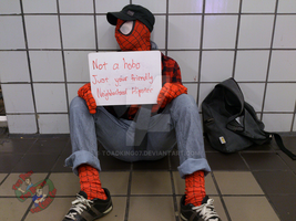 Not A Hobo Just Your Friendly Neighborhood Hipster by toadking07