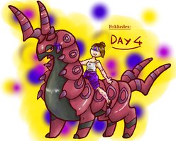 Dec. Pokkedex Day 4: Don't hug a venomous insect. by 80Roxy08