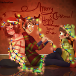 Merry Christmas n' Happy new year! by creamcake13
