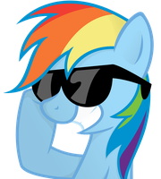 Rainbow Sunglasses by ShinodaGE