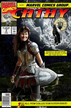 Cathy's Comic Cover by pureatheism
