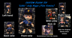Custom Little Judy Hopps Film Version by EJLightning007arts
