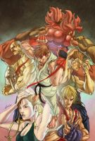 Alvin Lee - Street Fighter Coloring by Gelo2Dio