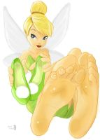 Tinker Bell's soles by Solesartist
