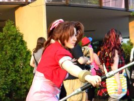 Aerith - Final Fantasy - ACen 2013 by EndOfGreatness