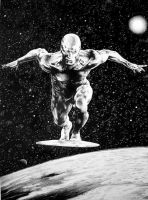 Silver Surfer by bobbykro