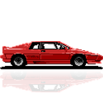Yet another Lotus Turbo Esprit by Retronator