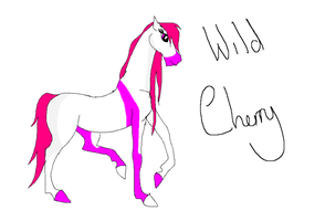 Wild Cherry gift tablet by Horses-Echo