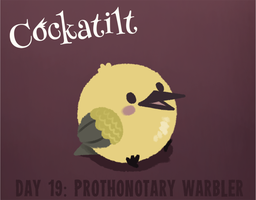 Birdstarter Day 19: Prothonotary Warbler by Furrama