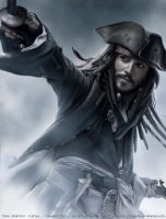 Captain Jack Sparrow by redderz