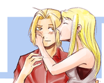 Edward and Winry by Perfectlykawaii93