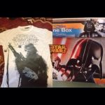 my star wars t-shirth and cookies with gamebox by kari5